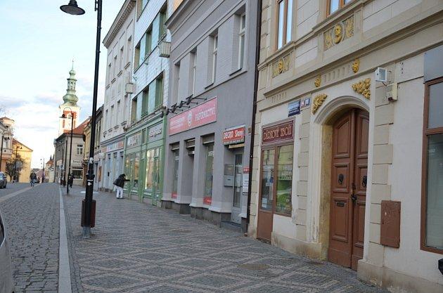 2. zastavení – Husova ulic č.p. 94.Vtomto domě se narodil Jan Šultys zFelsdorfu.