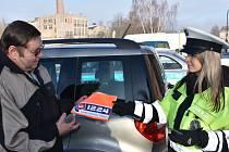 Preventivní bezpečnostní policejní akce X zaměřená na viditelnost motoristů
