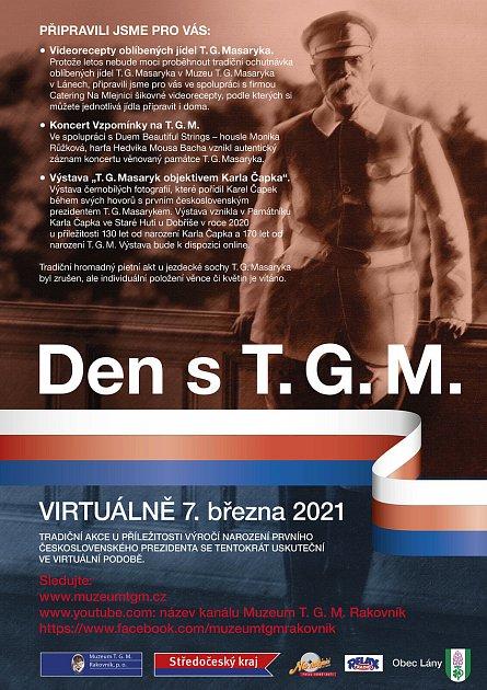 Plakát ke Dni sTGM.