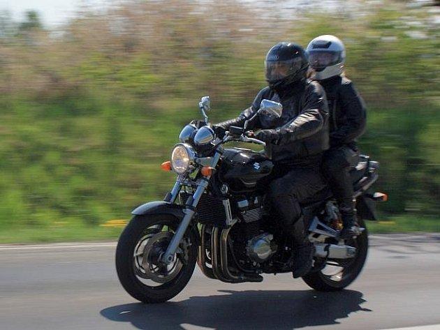 """""""Není to jen jízda, je to životní styl a svoboda,"""" tvrdí o svém hobby motorkáři."""