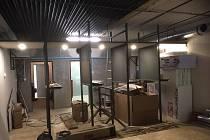 Střelnice v Kladně na Sítné v bývalém podchodu už dostává jasné obrysy. Nyní už se čeká jen na potřebná povolení.