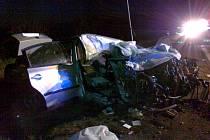 Tragická nehoda u Třebíze na silnici I/7, neděle 29.dubna 2012