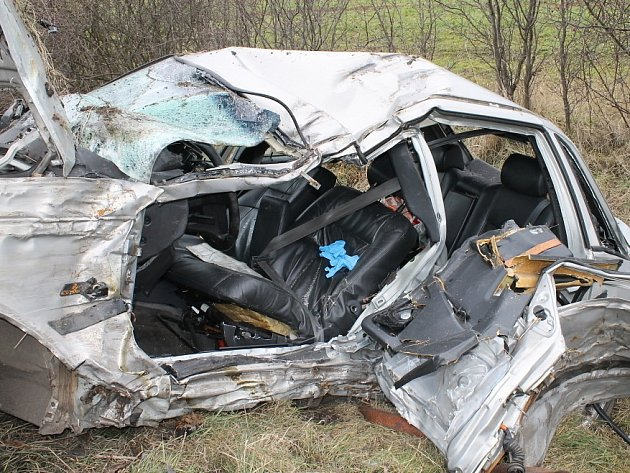 Vážná dopravní nehoda u Smečna. Neděle 9. února
