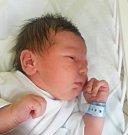 JAN ŠOREL, KLADNO. Narodil se 15. května 2017. Váha 3,2 kg, míra 49 cm. Rodiče jsou Kamila a Jan Šorelovi. (porodnice Kladno).