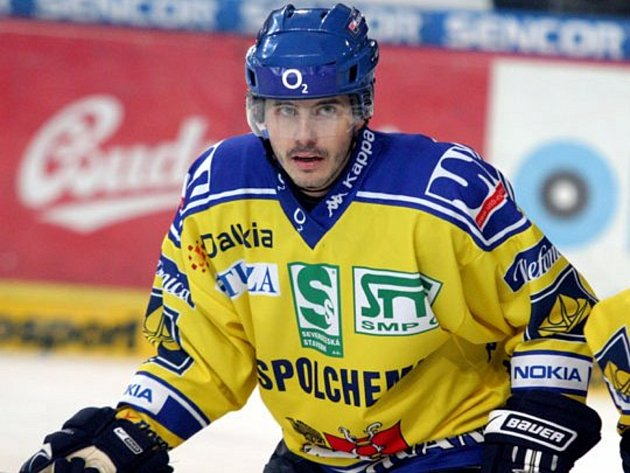 Bývalý hokejista Michal Havel.