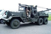 Součástí vojenské kolony bude například vyprošťovací vůz pro lehké a střední tanky Ward la France. Od vylodění ve Francii, až do vyřazení z výzbroje, ho využívaly armády několika zemí.