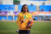 Na obou nejkratších distancích se v Kladně představí i Rosângela Santosová, která také startovala na MS v Dauhá.