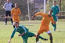 FK Brandýsek – Sokol Hostouň 1:5 (1:3), utkání 7. kola I.B.tř., hráno 3.října 2009