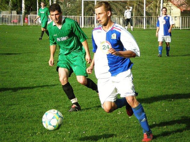 Kamil Klempt mezi chmelovými poli skóroval.