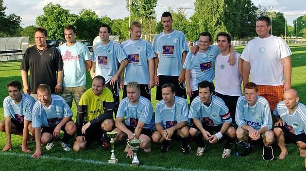 Vítěz turnaje v Lidicích - Sokol Hostouň.