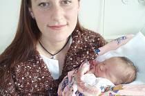 Alžbeta križovenská se narodila jako první miminko v Kladně v roce 2008.