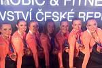 Aerobik Dancers. Vítězky kategorie Fitness Grande.