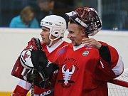 Alpiq Kladno - HBC Rakovník 4:1, CCM Extraliga hokejbalu 8. 9. 2017