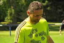 Radek Šaroch vstřelil dva slánské góly Rozdělovu, i díky tomu jeho tým vyhrál 6:3.