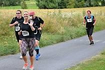 Závodníci vyběhli na haldu už pošesté.