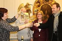 Přemyslovci pokřtili za iniciativy ředitelky společnosti Jaroslavy Seifertové,  předsedy Jaroslava Huka a Jitky Janouchové  již pátou publikaci. O brožuru s vodními mlýny byl mezi lidmi velký zájem.