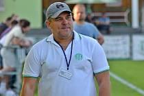 Zklamaný trenér Hostouně B Študent, ale jinak se mu povedlo s týmem na podzim velké dílo.