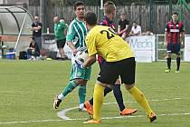 Sokol Hostouň - FK Baník Souš 7:2 (4:0), Divize B, 16. 6. 2018