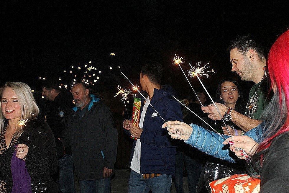 Silvestr ve Slaném a vítání Nového roku
