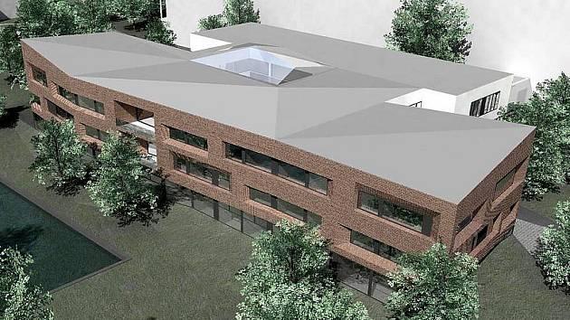 Budoucí podoba nového domova pro seniory.