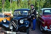 Cílem rallye byl hotel Astra v Srbech.