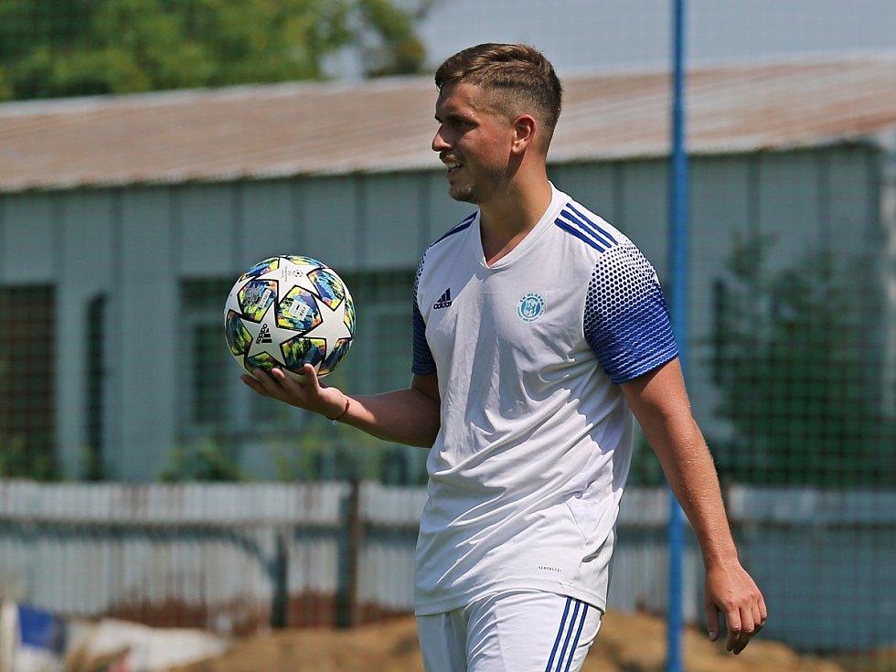 SK Kladno - FK Králův Dvůr 2:0, přátelské přípravné utkání 24.7. 2021