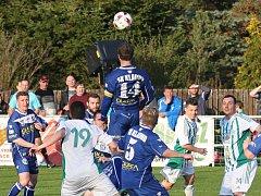 Sokol Hostouň - SK Kladno 0:1, Divize B, 9. 4. 2017