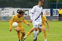 Tomáš Štverák // SK Kladno - FC Hlučín  3:0 (2:0)  , utkání 26.k. 2. ligy 2010/11, hráno 15.5.2011