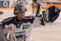 Zdeněk Orct - pocta hokejovému brankáři.
