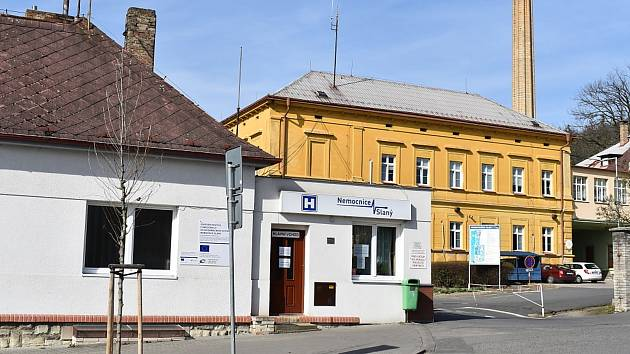 Nemocnice Slaný.