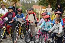 Dopravní akce v Dětském domově v Unhošti.