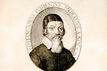 George Glover - Jan Amos Komenský, A Reformation of Scholees, ryto vLondýně v roce 1642 (Praha, Národní knihovna České republiky) – nejstarší známé a dochované vyobrazení Komenského.