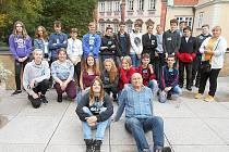 Školáci ze Smečna navštívili poslaneckou sněmovnu.