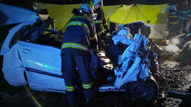 Tragická nehoda na dálnici D7.