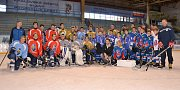Jaromír Jágr slavnostně otevřel hokejové centrum mládeže ve Slaném a zatrénoval si i s dětmi.