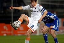 Tomáš Marek v dresu Baníku Ostrava