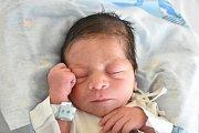 MAREK KOVÁČ, KLADNO. Narodil se 24. ledna 2018. Po porodu vážil 2,29 kg a měřil 45 cm. Rodiče jsou Iveta Paciková a Marek Kováč. (porodnice Kladno)