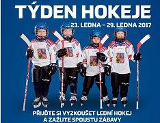 Akce Týden hokeje míří také do Kladna.