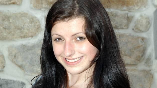 MICHAELA ROZENSKÁ. Studentka z Kladna bude poslední prázdninový den usilovat v Žatci o titul  Miss zlatého moku.