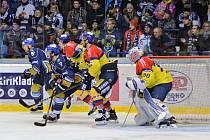 3. utkání semifinále WSM ligy Kladno - Č. Budějovice