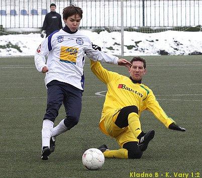 Antonín Holub vyrovnal na 1:1.
