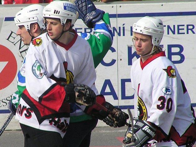 Jan Denis (vlevo) ani Jan pospíšil by v dresu Habešovny ve finále Evropského poháru scházet neměli.