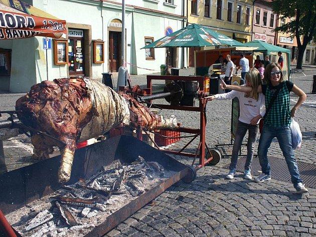 Rožnění uherského (martinického) býka a Královské kování, Slaný 2010