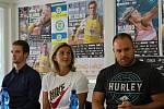 Mítink Kladno hází a Kladenské memoriály představily české atletické hvězdy Barbora Špotáková, Tomáš Staněk, Matěj Krsek.