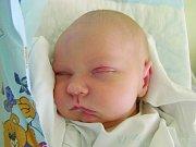 Matěj Hejl, Praha. Narodil se 18. dubna 2012, váha 3,33 kg, míra 50 cm. Rodiče jsou Tereza Škardová a Petr Hejl. (porodnice Kladno)