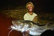 Rybář povyprávěl také o chytání ryb v Kongu.