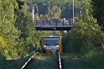 Vlak srazil muže nedaleko železniční stanice Kladno-město.