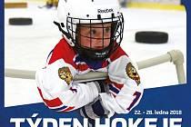 Týden hokeje - v Kladně se tahle akce odehraje v pondělí 22. ledna.