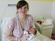 DAVID REZEK, BRANDÝSEK. Narodil se 3. dubna 2017. Váha 3,36 kg, míra 50 cm. Maminka je Jana Rezková (porodnice Kladno).