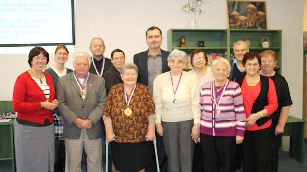 Vyhlášení výsledků Měsíce seniorů v knihovně ve Slaném